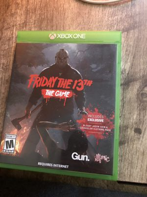 Friday The 13th Xbox One for Sale in San Diego, CA