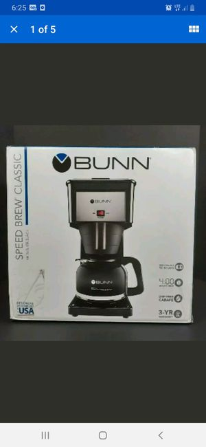 BUNN GR BLACK Velocity 4 Minute Speed Brew Classic 10 Cup Coffee Maker BRAND NEW for Sale in Henderson, NV
