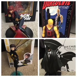 Marvel & DC Comics collectible Statues/Figurines for sale for Sale in Stockton, CA