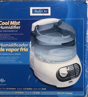 Reli On Cool Mist Humidifier with extra Protec filters for Sale in Aurora, IL