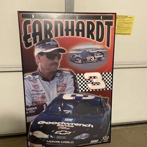 Dale Earnhardt framed NASCAR poster for Sale in Woodbridge, VA