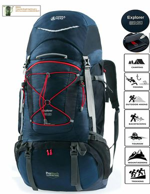 Brand New Terra Peak Backpack Explorer 85L+20L for Sale in Tampa, FL