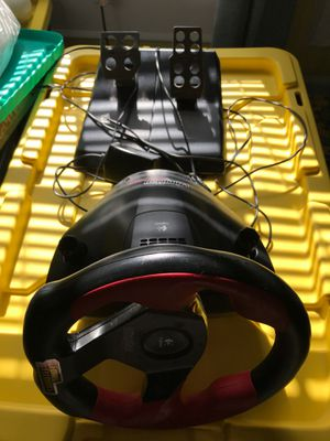 Racing Wheel & Pedals for Sale in Lincolnton, NC
