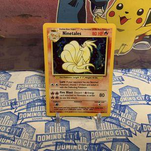 Ninetales Base Set 12/102 Pokemon Trading Game for Sale in Pomona, CA