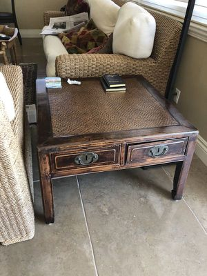 Solid wood handmade table for Sale in Fort Lauderdale, FL