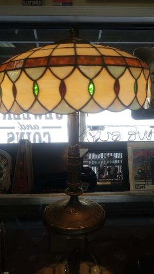 Vintage favrile glass styled lamp. for Sale in Cockeysville, MD