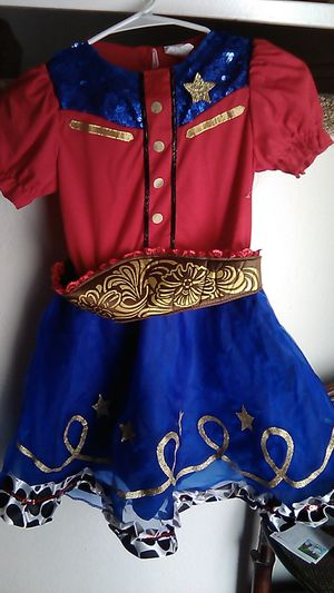 Girls size 8-10 cowgirl costume for Sale in Riverside, CA