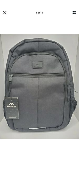 Travel Laptop Backpack, Business Anti Theft Slim Durable Laptops Backpack for Sale in Davie, FL
