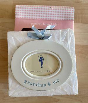 Pottery Barn Kids Grandma & Me oval frame - new in box for Sale in Tampa, FL