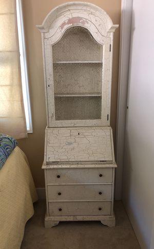 2 piece Antique desk hutch for Sale in San Diego, CA