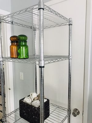 Bathroom shelves/ storage stand . Firm price! for Sale in Fort Lauderdale, FL