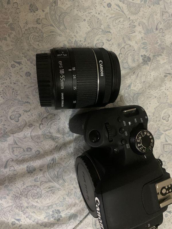 Canon EOS Rebel T7i + 18-55 len