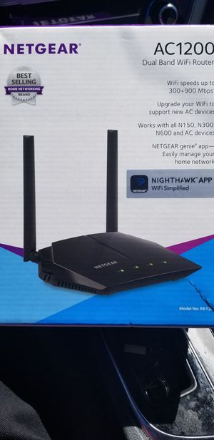 Netgear Dual band wifi router for Sale in Woodbridge, VA