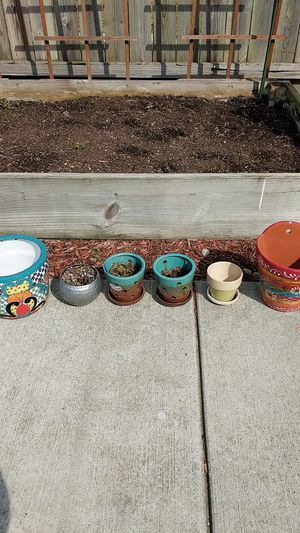 Various pots for plants for Sale in Nashville, TN