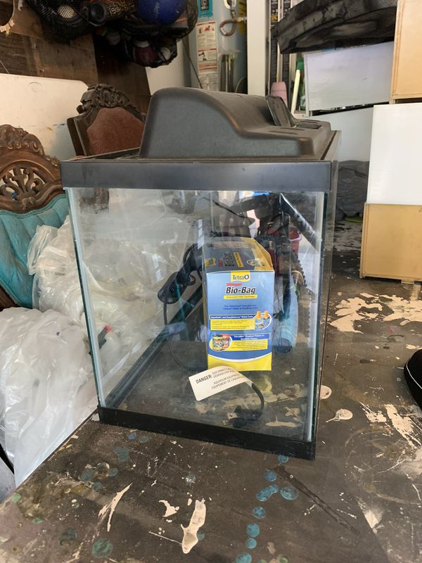 10 gallon glass tank