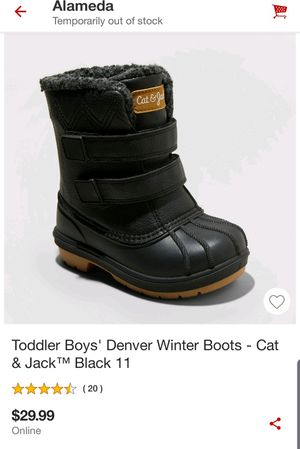 Kids snow boots size 11 $15 for Sale in Oakland, CA