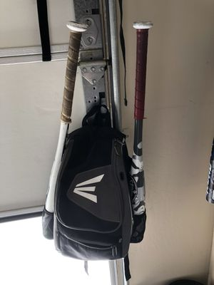 Easton grey baseball backpacks, 2 available for Sale in Bakersfield, CA