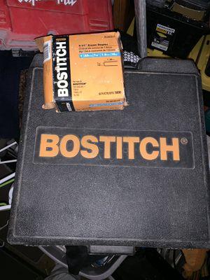 Bostitch cap and staple nail gun for Sale in San Antonio, TX