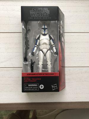 Walgreens Exclusive Star Wars Black Series Clone Trooper Lieutenant for Sale in Aldie, VA