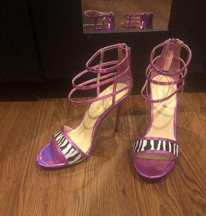 New! Pink Zebra Print Heels for Sale in Washington, DC