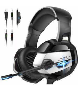 ONIKUMA 7.1 Surround Sound Gaming Headset for PS4, Xbox One, PC, Nintendo Switch for Sale in La Vergne, TN