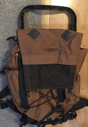 camp trails external frame backpacking hiking pack for Sale in Portland, OR