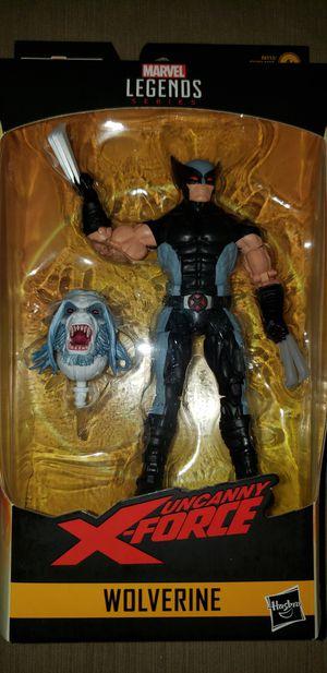 Marvel Legends Xmen Xforce Wolverine Wendigo Baf for Sale in Elmwood Park, IL