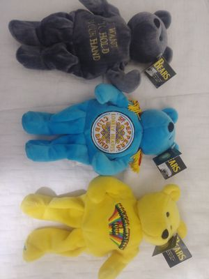 1999 Beatles Beanie Babies Bears Limited Edition of 25,000 for Sale in Modesto, CA