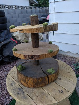 Wood cake stands for Sale in Las Vegas, NV
