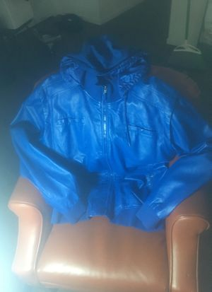 Request blue hoodie Jacket for Sale in Las Vegas, NV