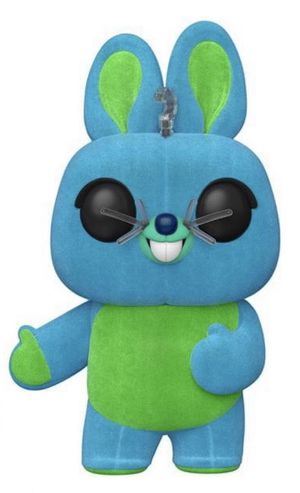 Disney / Pixar Toy Story 4 Funko POP! Disney Bunny Exclusive Vinyl Figure [Flocked] for Sale in San Antonio, TX
