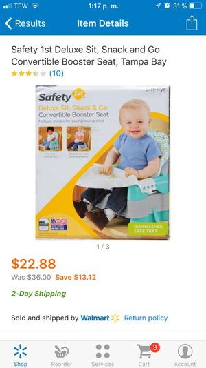 Convertible booster seat for Sale in Las Vegas, NV