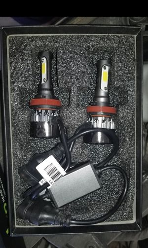 H11/H8/H9 LED Headlight Bulb - Hi/Lo Beam/Fog Lights (2 Pack for Sale in Manassas, VA
