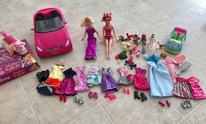 Barbie, clothes, shoes and car for Sale in Castro Valley, CA
