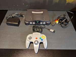 Nintendo 64 (N64) Console System with Controller for Sale in Burlingame, CA