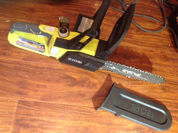 Ryobi 18v cordless ONE+ Chainsaw!! Like new, only $40