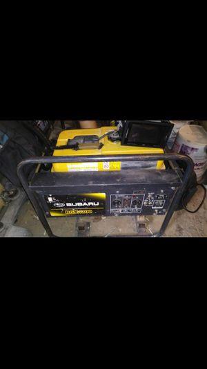 Subaru rgx4800 industrial strength generator for Sale in Philadelphia, PA