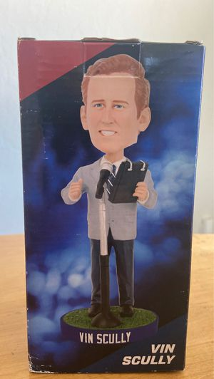 Vin Scully Bobblehead - Brand New for Sale in Kingsburg, CA