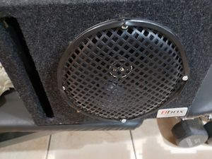 """10""""INCH SUBWOOFER WITH PORTED BOX AND GRILL for Sale in Ontario, CA"""
