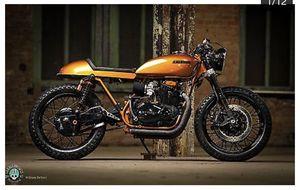 Motorcycle Kawasaki 1975 custom for Sale in Orlando, FL