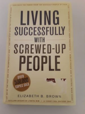 Living Successfully With Screwed-Up People Book for Sale in Norwood, PA