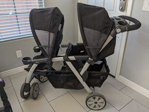 Chicco cortina double stroller for Sale in Goodyear, AZ