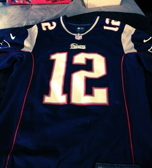 New England Patriots#12 Brady Jersey for Sale in CLARKSVLE CTY, TX