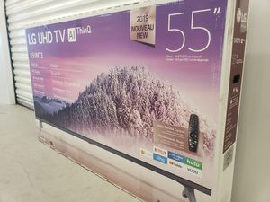 """55"""" LG 55UM7300 4K UHD HDR LED SMART TV 2160P (FREE DELIVERY) for Sale in Lakewood, WA"""