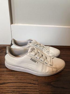 Women's White Pumas size 7.5 for Sale in Nashville, TN