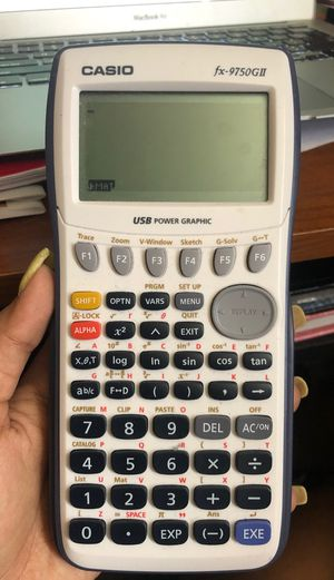 GRAPHING CALCULATOR FOR SALE (Casio) for Sale in Port St. Lucie, FL