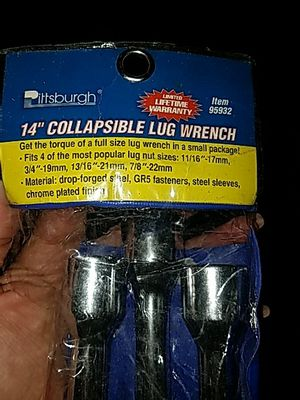 Lug wrench for Sale in Las Vegas, NV