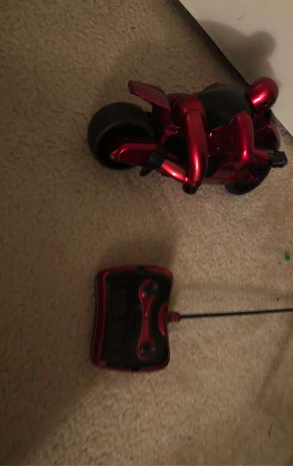 Remote control motorcycle say a price delivery 7 dollars