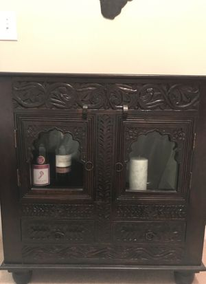 Gorgeous Dark Brown Cabinet for Sale in Mount Pleasant, SC