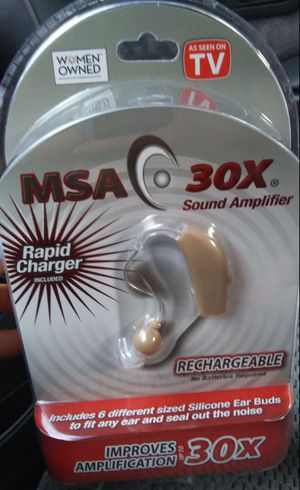 MSA 30X Sound Amplifier for Sale in Portland, OR